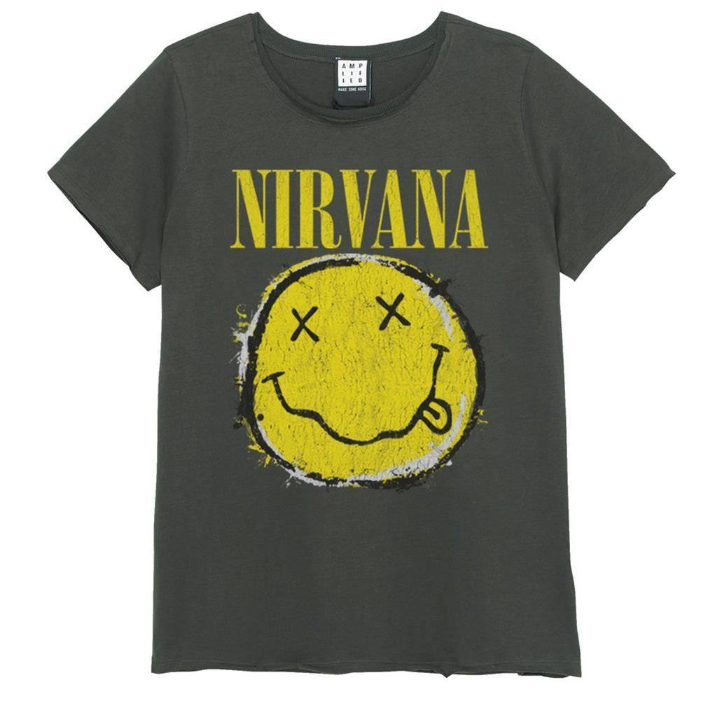 Worn Out Smiley Vintage-Nirvana 38483