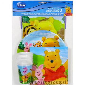 Party Set Winnie The Pooh 478