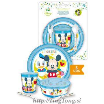 Jedilni Set Mickey Mouse