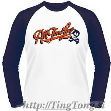 T-shirt Baseball All Time Low 2025