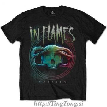 T-shirt In Flames 2045
