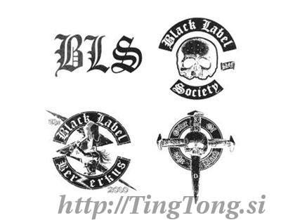 Tattoo Black Label Society 2590