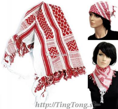 Rutka arafat mala White & Red 2823