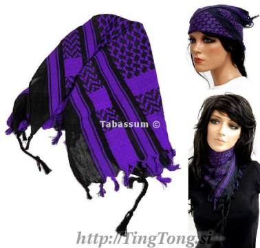 Rutka arafat mala Black & Purple 2830