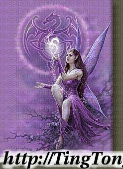 Poster Celtic Fairy 3258