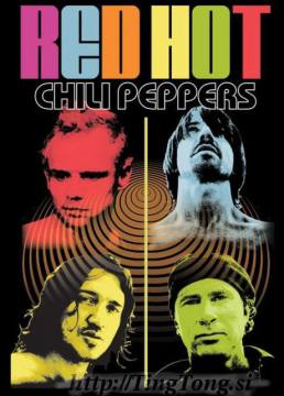 Colour Me-Red Hot Chili Peppers 3962