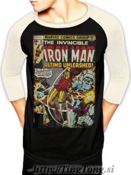 T-shirt Iron Man-LS