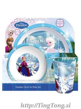 Jedilni Set Disney Frozen
