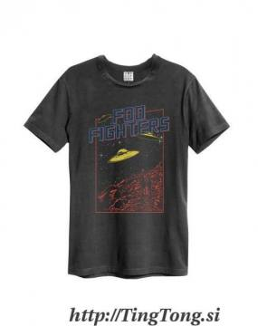 Flying Saucers Charcoal -Foo Fighters 6563