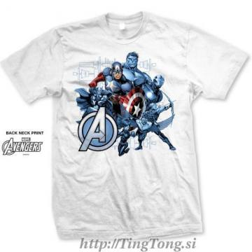 Group Assemble White-Avengers 7235
