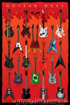 Poster Guitar Hell
