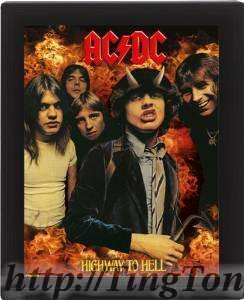 Poster 3D AcDc 8151