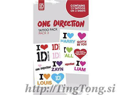 Tattoo One Direction 8530