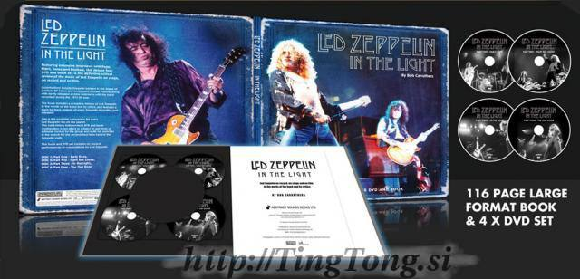 DVD Book set Led Zeppelin 8741