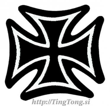 Našitek Iron Cross 8879