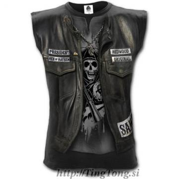 Jax Wrap Allover Vest-Sons Of Anarchy 9031
