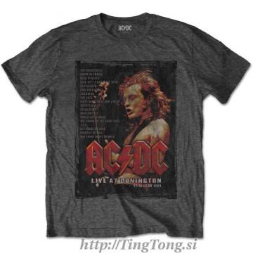 Live At Donington Lyrics Charcoal Grey-AcDc 9845
