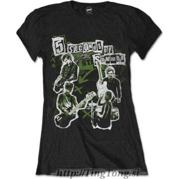 Girlie Shirt 5 Seconds Of Summer 9857