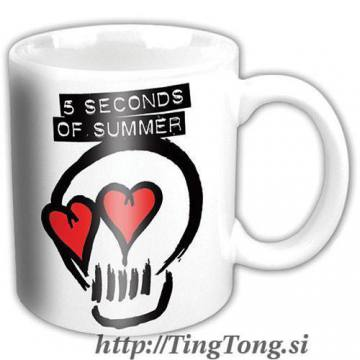 Logo White-5 Seconds Of Summer 10370