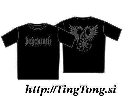 T-shirt Behemoth 10649