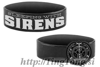 Zapestnica Gumi Sleeping With Sirens 11185