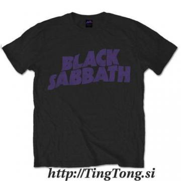 Purple Wavy Logo Vintage-Black Sabbath 13453
