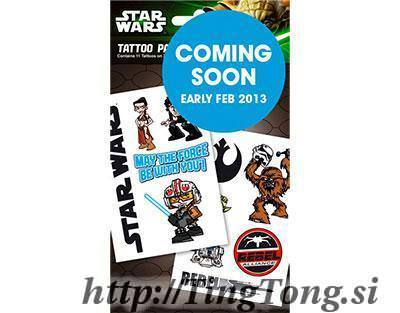 Tattoo Star Wars 13760