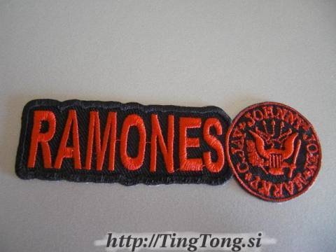 Red Logo Johnny Seal-Ramones 13832