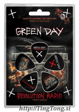 Guitar Pic Green Day 14023