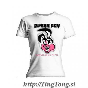 Girlie shirt Green Day 14149