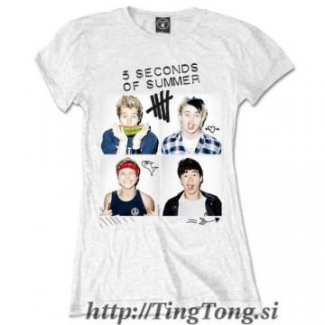 Girlie Shirt 5 Seconds Of Summer 14639