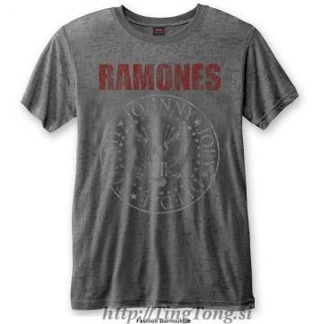 Seal Red Logo Grey-Ramones 14664