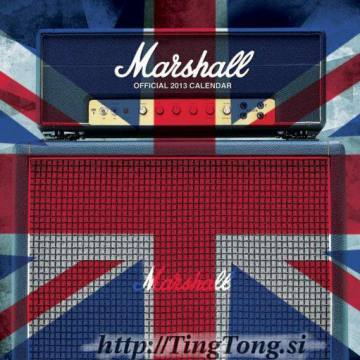 Koledar Marshall Amplification 17460