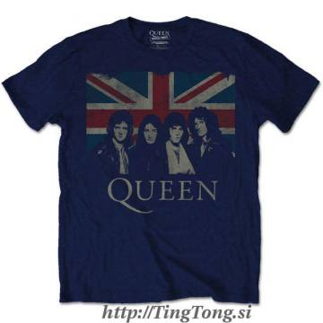 Union Jack Vintage Navy Blu-Queen 17563