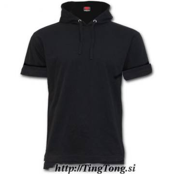T-shirt z kapuco Urban Fashion 17645