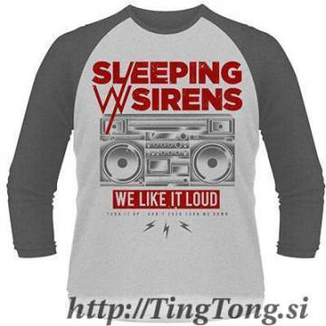 T-shirt Sleeping With Sirens-LS