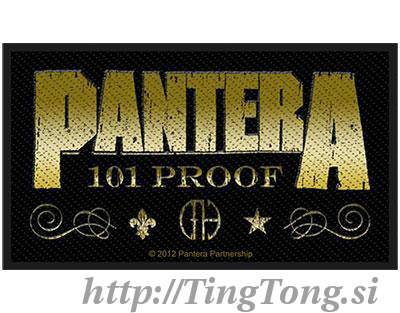 Whiskey Label-Pantera 18256