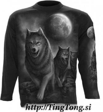 T-shirt Wolf Pack Wrap-LS 18496