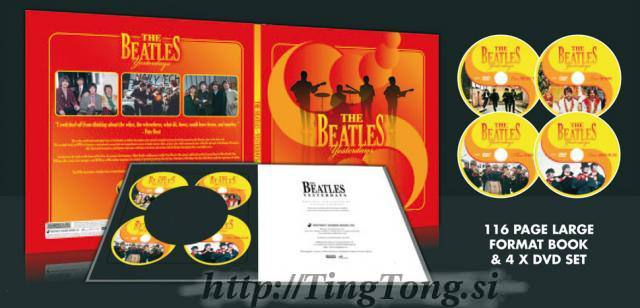 DVD Book set Beatles