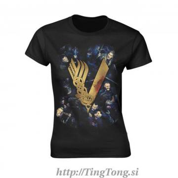 Girlie shirt Vikings 24486
