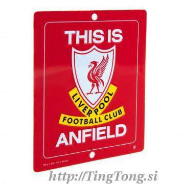 Tablica FC Liverpool