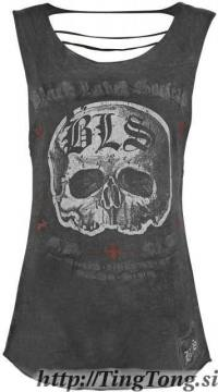 Skull Vintage Grey-Black Label Society 25370