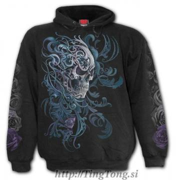 Hoodie Rococo Skull 25282
