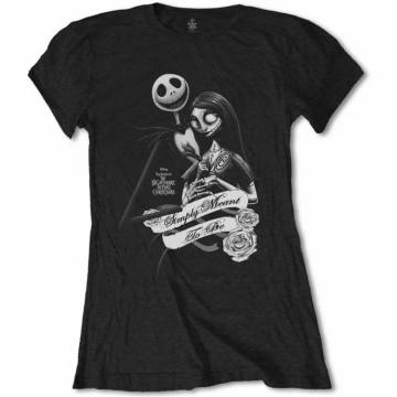 Simply Meant to Be - The Nightmare Before Christmas Girlie T-shirt 26983