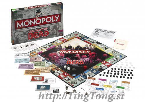 Monopoly Walking Dead 28825