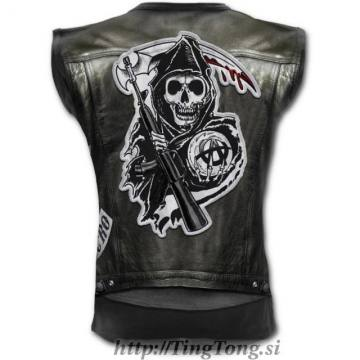 Jax Wrap Allover Vest-Sons Of Anarchy 29542
