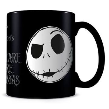 Jack Face-The Nightmare Before Christmas