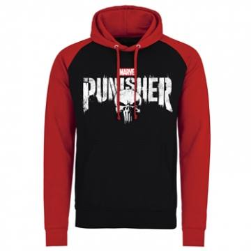 Distressed Skull Black&Red-Punisher 33321