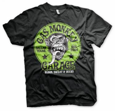 Green Logo-Gas Monkey Garage