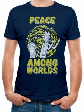 Peace Among Worlds Blue-Rick And Morty